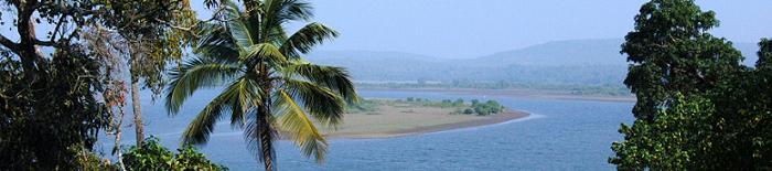 Goa India Chapora River