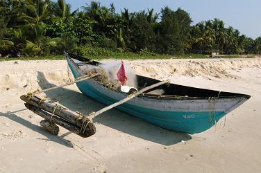 Boat on Kappad Beach