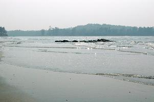 Quiet Muzhappilangad Beach