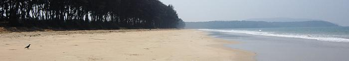 South of Patnem beach
