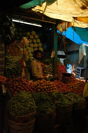 Ooty Market Picture