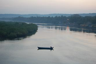 Siolim Chapora river