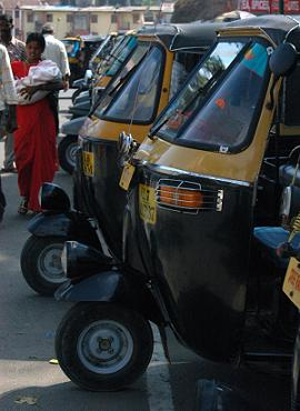 India Travel - Tuk Tuk