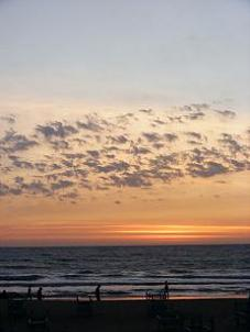 Goa beach sunset