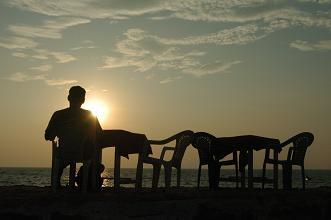 Kerala beach sunset