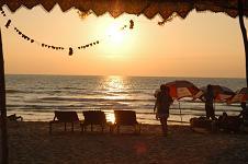Goa India Sunset