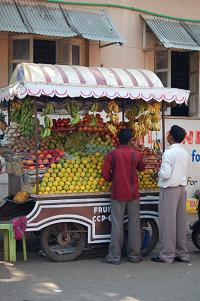 Fruit stall in Panaji